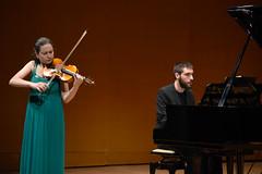 Iria Fernández, detalle de la actuación concierto de inauguración