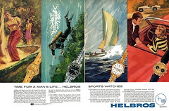 1970 Helbros watches (Tom Simpson) Tags: 1970 1970s helbros watch watches accessories vintage ad ads advertising advertisement vintagead vintageads