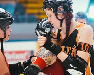 Luleå Roller Derby vs Norrköping Roller Derby