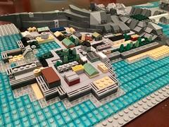 WIP 1.1: The City Center (Achintya Prasad) Tags: lego wip microscale island secret massive detail rocketsshhhh resort