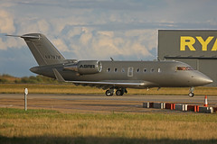 N87878 Bombardier CL605 Challanger ASRR Stansted 10th October 2016 (michael_hibbins) Tags: