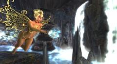 Faery Magic_023 (kristi Stevenson (KC Photography and Graphic Art S) Tags: secondlife secondlife:parcel=islesofperversion faery fairey fantasy wings edited photoscape maitreya rose