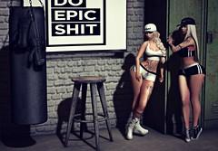 The Work Out (Sadystika Sabretooth) Tags: cynful bueno foxy empire valekoer meshbodyaddictsfair foxcity spellbound