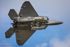 F-22-3681 (_OKB_) Tags: riat2017 sigmalens sigma150600sports lockheedmartinf22raptor f22 usaf uk airshow fighterjet stealth