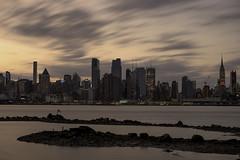 New York skyline from New Jersey | 170430-7624-jikatu (jikatu) Tags: 55mm d810 eeuu jikatu newjersay newyorkcity nikon otus skiline sunrise usa flg newyorker viñoly