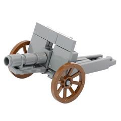 World War 1 Field Gun Kit (X39BrickCustoms .com) Tags: lego ww1 bf1 battlefield guns custom legos x39brickcustoms kits