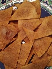 Baked Cinnamon Sugar Torilla Chips (nnnicole32) Tags: cinnamon sugar baked tortilla chips amy kitchen lynn