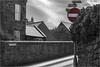 Contradiction.jpg (DCP-Swansea) Tags: noentry loverslane roadsign shetlandislands lerwick street