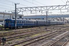 総武本線開業120周年記念号 (kasa51) Tags: train railway 120thanniversary sobuline jr choshistation 総武本線開業120周年 記念号 12系客車 de10ディーゼル機関車 銚子駅