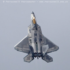 0423F22 Raptor (photozone72) Tags: riat fairford airshows aircraft airshow aviation canon canon100400mmf4556l canon7dmk2 7dmk2 usaf f22 raptor jet