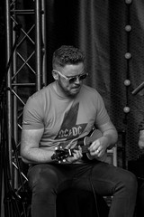 Ukulele band. (NBD Photography) Tags: festival portrait portlaoise tent musician ukulele attraction
