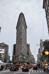 Flatiron Building (life of nomad) Tags: flatiron building nyc ny new york city usa united states america state big apple manhattan brooklyn queens bronx lower island hudson river rush traffic jam cars vehicles yellow cab cabs structure steel frame skyscraper skyscrapers landmark landmarks world heritage characteristic typical outstanding extraordinary icon iconic tall 20th century fuller one trade center rockefeller centre triangle triangular fifth avenue 22 stories story design construction civil engineering engineer structural representative