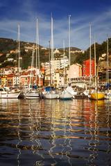 Segelboote im Hafen von Lerici (wiwenir) Tags: 2017 italien ligurien lerici segelboote hafen