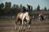 Bareback Bronc riding at a local rodeo (getting back ( slowly )) Tags: bareback bronc riding rodeo