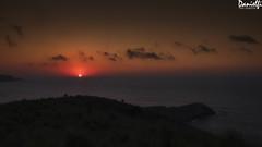 Sol muriente - Dying sun (danielfi) Tags: puesta sol sunset ocaso costa coast mar sea seascape asturias asturies ngc