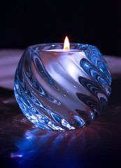 Blue Candle (Lisoesphotos) Tags: candle dslr blue light flame beautiful lightroom canon amazing photography art focus
