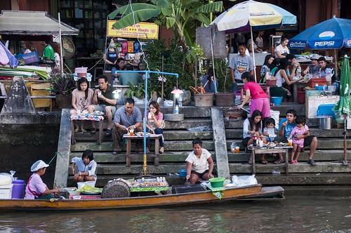 marché flottant amphawa - thailande 13