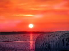 Baltic Sea Sunset (Martina Stoltz) Tags: stein kiel germany ostsee kieler förde sonnenuntergang sunset instagram instagood