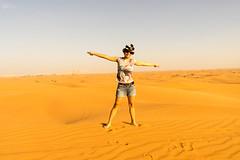 Freedom (tesKing (Italy)) Tags: dubai emiratiarabi sandra uae desert sharjah emiratiarabiuniti ae