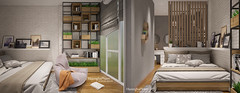 Linh's bedroom 2017.01.22 (HuonghaPham) Tags: interior design furniture bed bedroom room huonghapham