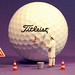 Recently in the golf ball factory - neulich in der Golfball Fabrik