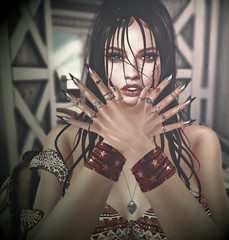 ★ Look 182 (by Lilith | Marzia | Shaitan06 | PerlaNera) Tags: argrace eternalflame lelutka swallow codex eastudio izzies limit8 theepiphany secondlife bentoavatars ritratto summer nails bentorings