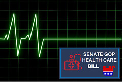 GOP Senate Health Care Bill DOA (Mike Licht, NotionsCapital.com) Tags: senate gop doa flatlining republicans mitchmcconnell healthcare bettercarereconciliationact bcra