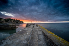 DSCF3612-HDR (douglaswestcott) Tags: charlestown cornwall coast coastal harbour hdr tripod sunrise fisheye fuji fujifilm xt1 samyang 8mm