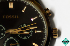 Rendezvous At Three (shamahzoha) Tags: three macromonday macro watch hands time seconds minutes hours golden brown colorful elegant luxurious timekeeper vibrant abstract closeup colors 7dwf
