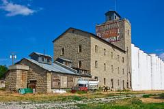 FLOUR MILL, HARLOWTON, MONTANA (akahawkeyefan) Tags: mill elevator harlowton montana davemeyer