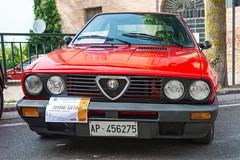 Vintage Vehicles at Montalto, June 2017 (MikePScott) Tags: alfaromeo ascolipiceno camera car italia italy lemarche lens montaltodellemarche nikon2470mmf28 nikond800 transport