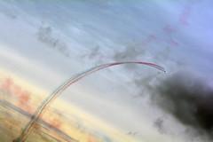 CUrve into the skys (quintinsmith_ip) Tags: redarrows red arrows smoke white blue plane jet formation raf british royalairforceaerobaticteam royal air force aerobatic team bae hawk t1 baehawkt1 southshields gnr greatnorthrun2017sunderlandsaturday2017air show international fly flying demo smoking