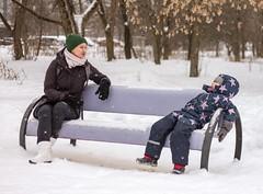 Paraenesis (galushchak) Tags: galushchak wanderlust travel moscow winter russia russianfederation strogino street urban cityscape snow february 2017 family love