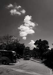 2017-07-23_07-39-49 (jumppoint5) Tags: blackandwhite cloud light shadow urban city contrast bus drift
