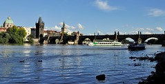 Charles Bridge,Prague (mala singh) Tags: bridge river water charlesbridge prague czechrepiblic europe
