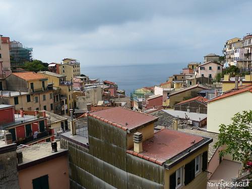 Riomaggiore - Vue sur les toits