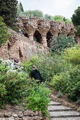 Park Güell, Barcelona (Maya Lucchitta) Tags: antonigaudí barcelona españa gaudi gaudí parkgüell spain