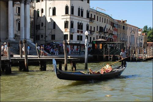 Góndola en Venecia (Italia, 17-6-2017)