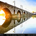 Portugal - North Region - Ponte de Lima & its medieval bridge during Sunset