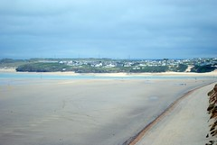 Looking to Hayle Towans (zawtowers) Tags: cornwall kernow summer holiday break vacation july 2017 carbisbay porth reb tor lelant lannanta south west coast path walk late afternoon rainy hayle towans porthkidney sands estuary river calm sandy beach
