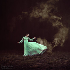 The Cleansing Dance (SleepingAwakePhoto) Tags: dance fineart photography conceptual darkart cleansingdance purifyair