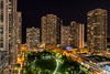 The View (Fret Spider) Tags: downtown magnificentmile radisson blu aqua chicago milleniumpark sonya7rii wideangle ultrawideangle night building architecture park lakemichigan illinois canonef24mmf14liiusm