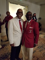 "Brother Polemarch Jordan and Laurel Wreath Recipient Dr Julian Earls • <a style=""font-size:0.8em;"" href=""http://www.flickr.com/photos/136379284@N06/36026558865/"" target=""_blank"">View on Flickr</a>"