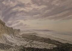 Seaweed Mounds On Garryvoe Beach (niall mccarthy) Tags: garryvoebeach eastcork knockadoon seaweed strand ireland landscape seascape sand shore coastal view niallmccarthy 2017 new art painting