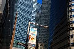City Of Straight Up (phillytrax) Tags: nyc ny newyork newyorkcity 212 718 bigapple city urban usa america unitedstates metropolis metropolitan manhattan lowermanhattan financialdistrict worldtradecenter wtc reflection glass highrises skyscrapers banner