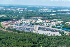 New Parking (CChard) Tags: aerial disney disneysprings disneyworld hollywoodstudios resort starwars toystory typhoonlagoon helicopter epcot espn sports stadium theme park
