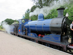 249 | steam engine – Broomhill station (Mark & Naomi Iliff) Tags: broomhill strathspeyraily railway preserved heritage railroad steam engine locomotive 828 caledonianrailway class812 060 1899