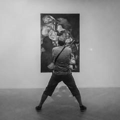 ... La Vie du Touriste ... (Lanpernas 3.0) Tags: museo arte artecontemporaneo balerdi pintura abstracto turista