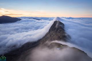 Suilven Sunrise Wild Camping Inversion