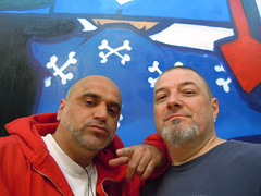 avec M. Shake, day 3 (Jihef) Tags: bozar yo brussels hiphop generations oldschool graffiti writers shake rage 1980s survivors